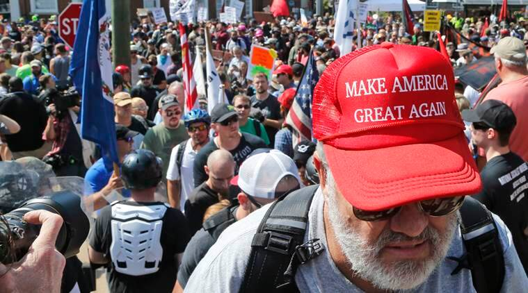 charlottesville violence, virginia violence, charlottesville reaction, donald trump, indian express news