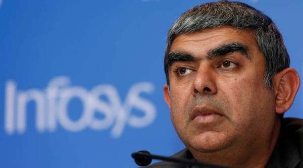 Vishal Sikka resignation, Vishal Sikka quit, Vishal Sikka resigns, Infosys, N K Narayana Murthy, Infosys chairman on Vishal Sikka's resignation, business news, indian express news