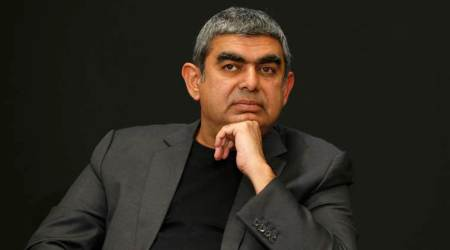 Vishal sikka, Infosys, Vishal sikka resigns, Vishal Sikka resignation, Infosys CEO, Infosys crisis, Infosys news, Narayana Murthy, Business News, Latest Business News, Indian Express, Indian Express News