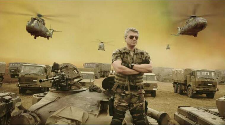 Watch Here Ajith Kumar Vivegam Movie Trailer Released - Vivegam Trailer