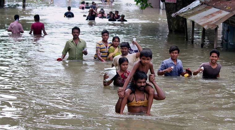 Image result for flood in india