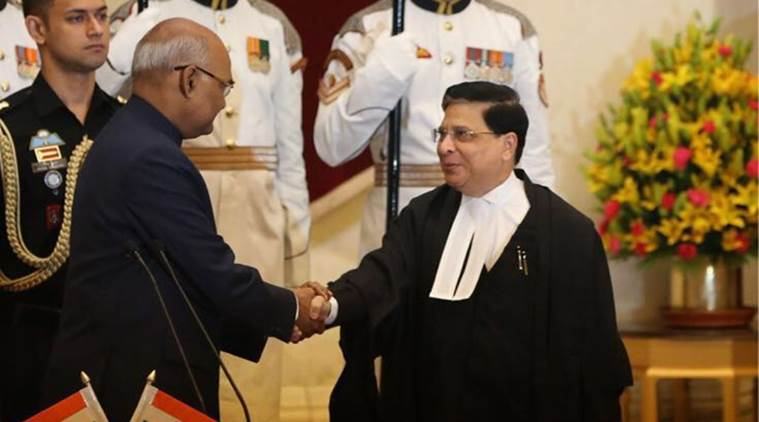 Image result for CJI Deepak Misra with PM Modi