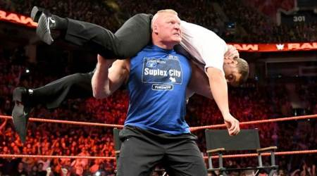 WWE Raw Video: Brock Lesnar gives glimpse of SummerSlam
