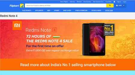 Redmi Note 4 sale on Flipkart for 72 hours: Here's how to get discount on final price