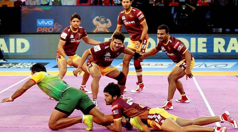 pro kabaddi 2017, pro kabaddi 2017 live score, up yoddha vs u mumba live, up yoddha vs u mumba, pkl live, kabaddi, sports news, indian express