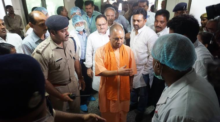 Gorakhpur, Yogi Adityanath, Gorakhpur hospital deaths, Gorakhpur tragedy, uttar pradesh, BRD medical college, kafeel khan, Japanese encephalitis, encephalitis, india news, indian express