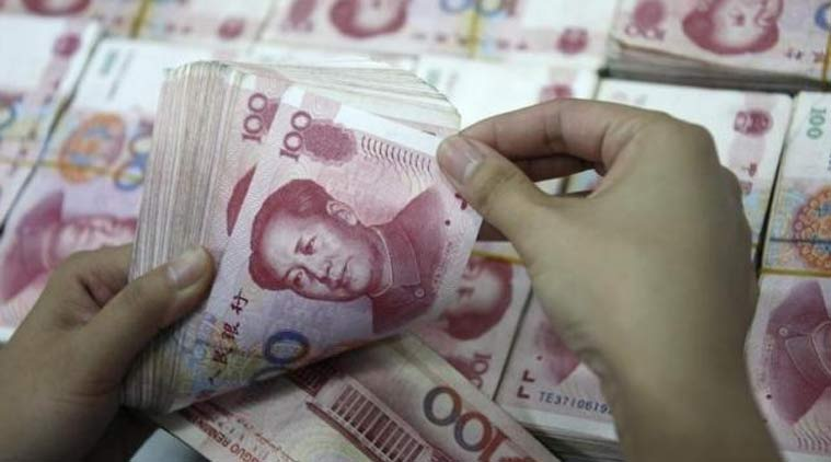 China's yuan firms against US dollar