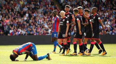 Blow for Crystal Palace as Wilfried Zaha ruled out for four weeks