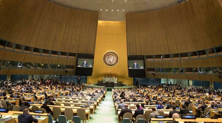 UNGA, resolution on violence, UN general assembly, UN and India, world peace, India on world peace, India news, Indian Express
