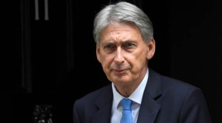 Britain's Philip Hammond calls for very modest divorce from EU