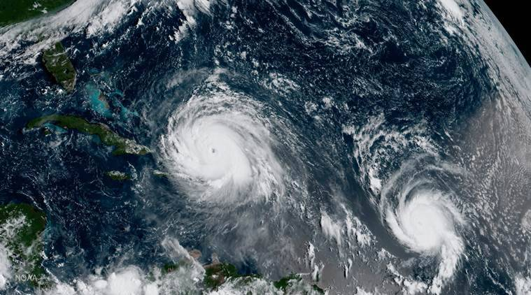 Hurricane Jose Hurrican Irma Caribbean Atlantic ocean hurricanes World news Indian Express