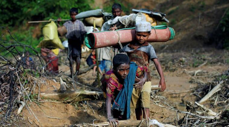 rohingya, rohingya problem, rohingya refugees, Rohingya refugees in India, Rohingyas in India, who are the Rohingyas, Myanmar, Rohingyas in Myanmar, Bangladesh, Rohingyas in Bangladesh, Rohingya news, India news, Indian Express