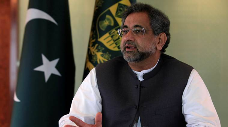 Shahid Khaqan Abbasi, Pakistan PM, US Pakistan relations, Pakistan havan terrorism, UNGA, UN General Assembly, US Pakistan cooperation, Donald Trump, India News, Indian Express