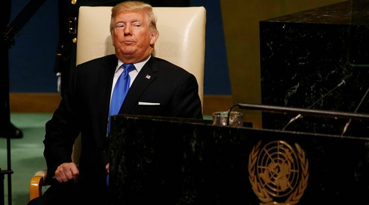 Donald Trump, Iran Revolutionary Guards, IRGS, Donald Trump on Iran, trump on iran, Iran, Iran nuclear deal, trump, UNGA, UN general assembly, World News, Indian Express