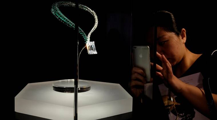 diamond, flawless diamond, auction, Geneva, Switzerland, 163.41-carat diamond, de GRISOGONO, Founder Fawaz Gruosi, Christie's, Rahul Kadakia, International Head of Christie's, gem, expensive jewellery, Indian express Indian express news