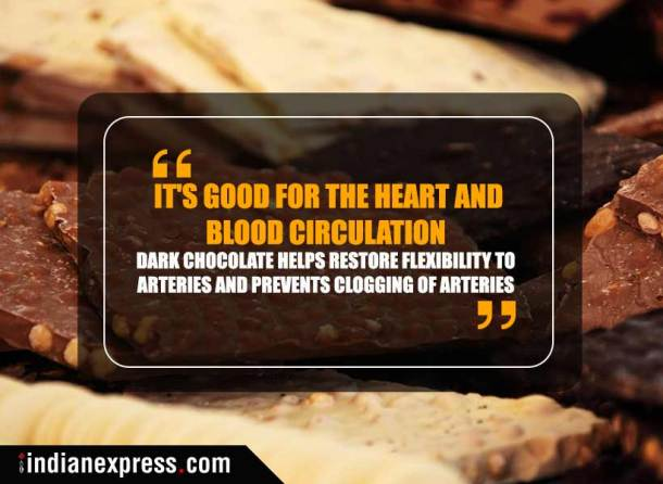 chocolate health benefits, dark chocolate why to eat, eating chocolate is healthy, health benefits of chocolate, dark chocolate, milk chocolate, healthy desserts, indian express, indianexpress news
