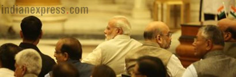 cabinet reshuffle, cabinet reshuffle photos, modi cabinet reshuffle 2017, modi new cabinet photos, nirmala sitharaman, piyush goyal, suresh prabhu, new cabinet ministers, new ministers photos, modi cabinet photos, india, indian express news