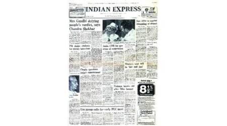 September 27, 1977, forty years ago: Janata on Indira