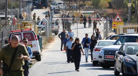 West Bank attack: Three Israeli guards killed by Palestiniangunman