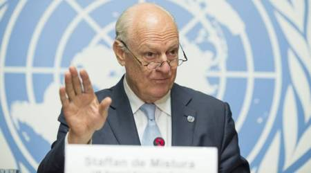 UN envoy calls for new round of Syria talks in about amonth