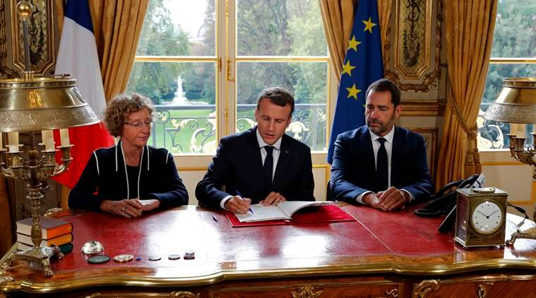 Christophe Castaner, Emmanuel Macron, weedkillers, enbvironment, french, French farming techniquies, farmers, World News, Indian Express