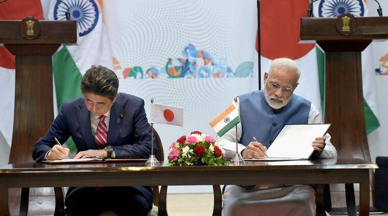 Image result for india japan bullet train make in india