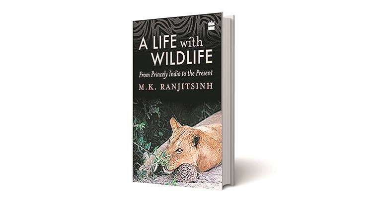 mk ranjitsinh, a life with wildlife from princely to the present, a life with wildlife book, mk ranjitsinh book review, indian express