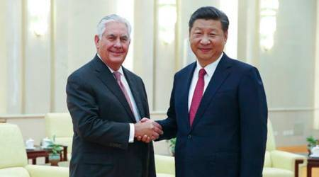 Rex Tilllerson meets Chinese President Xi Jinping; Trump visit, North Korea, trade discussed
