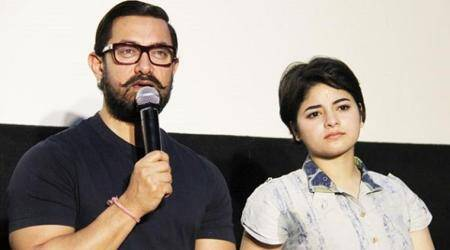 Aamir Khan impressed by Zaira Wasim's perfectionism