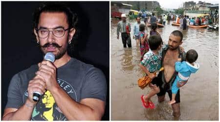 Aamir Khan, Bihar Floods, Bihar Floods news, Aamir Khan Rs 25 lakhs, Aamir Khan donation, Bihar Floods updates
