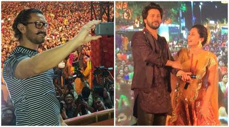 From Aamir Khan to Varun Dhawan, here is how celebrities are celebrating Navratri. See photos, videos