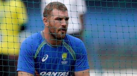 India vs Australia, Aaron Finch, David Warner, Ind vs Aus, Australia tour of India 2017, Ind vs Aus 3rd ODI, Cricket news, Indian Express