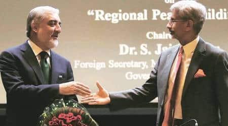 india, afghanistan, s jaishankar, abdullah abdullah, afghanistan chief executive, afghanistan on terrorism, afghanistan india pakistan, delhi news, indian express, india news