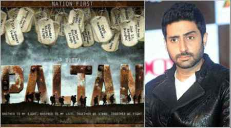 Abhishek Bachchan walks out of JP Dutta's Paltan, makers will soon announce the actor who will replace him