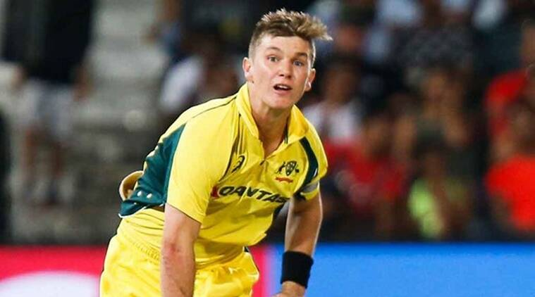Adam Zampa, India vs Australia, Adam Zampa australia, Adam Zampa bowling, sports news, cricket, Indian Express