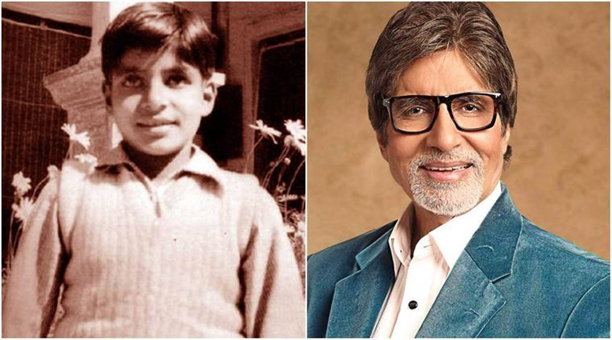 Amitabh Bachchan compares his 'then and now' and we cannot miss his  throwback photos | Entertainment News,The Indian Express