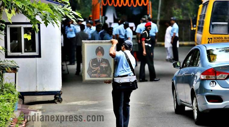Marshal of Air Force Arjan Singh last rites to be performed at Brar Square tomorrow