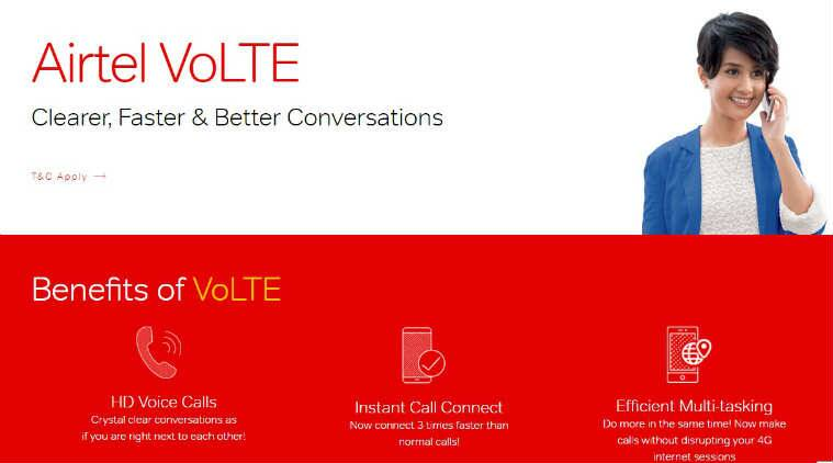 Airtel, Airtel VoLTE, Airtel 4G VoLTE launch, Airtel new service, greater call connectivity, enhanced voice calling, VoLTE 4G features, phones supporting VoLTE, Apple, Samsung, Xiaomi, Oppo, Vivo, VoLTE mobile support