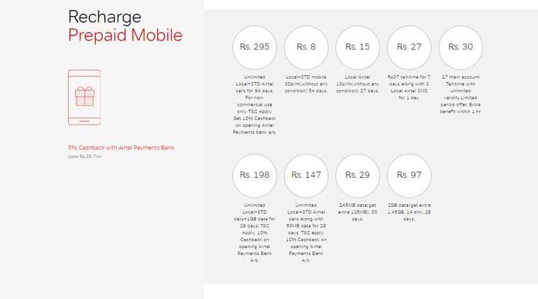 Airtel, Airtel plans, Airtel prepaid recharge, Airtel prepaid plans, Airtel Rs 5 plan, Airtel Rs 8 recharge, Airtel vs Reliance Jio plans, Airtel recharge plans, Airtel best plans, Airtel Rs 149 recharge, Airtel Rs 399 recharge
