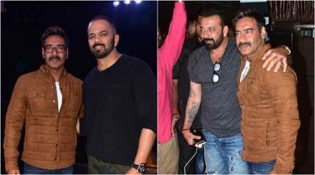 Ajay Devgn and Sanjay Dutt promote Golmaal 4 and Bhoomi on Khatron Ke Khiladi 8