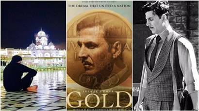 Gold: Akshay Kumar is enamored by the beauty of Amritsar while shooting for upcoming film