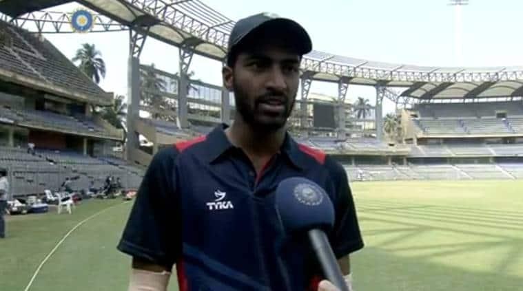 Akshay Karnewar, Akshay Karnewar bowling, BPXI vs Australia, Indian Board President's XI, sports news, cricket, Indian Express