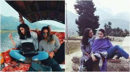 Alia Bhatt's photo from the sets of Raazi in Kashmir is giving us vacation goals