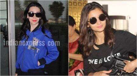Alia Bhatt and Karisma Kapoor's outfits are giving us nightmares