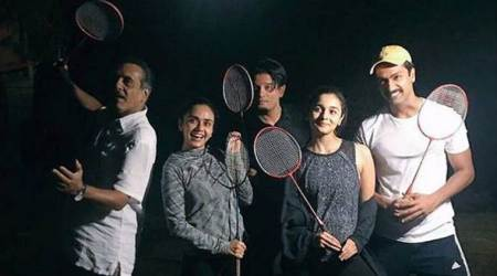 Raazi: Alia Bhatt's midnight badminton session with Vicky Kaushal in Kashmir