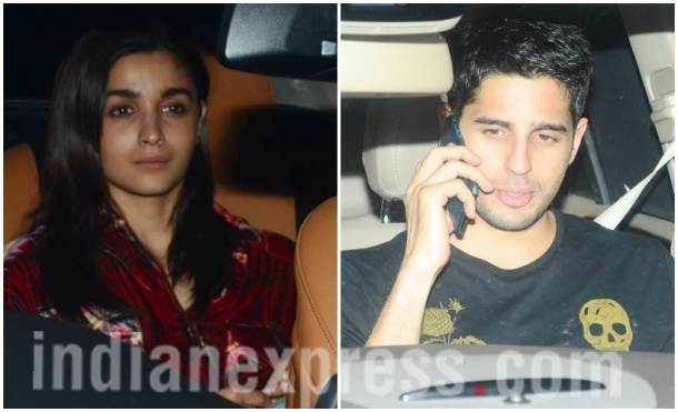 Alia Bhatt, Sidharth Malhotra, Ranbir Kapoor, Ranbir Kapoor birthday party, Ranbir Kapoor midnight bash