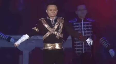 Video: Alibaba billionaire founder Jack Ma pulls off the COOLEST Michael Jackson moves
