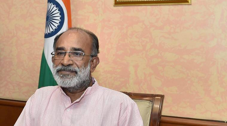 kj alphons, aadhaar data leak, irir, biometric data, digital data leak, mos tourism, indian express