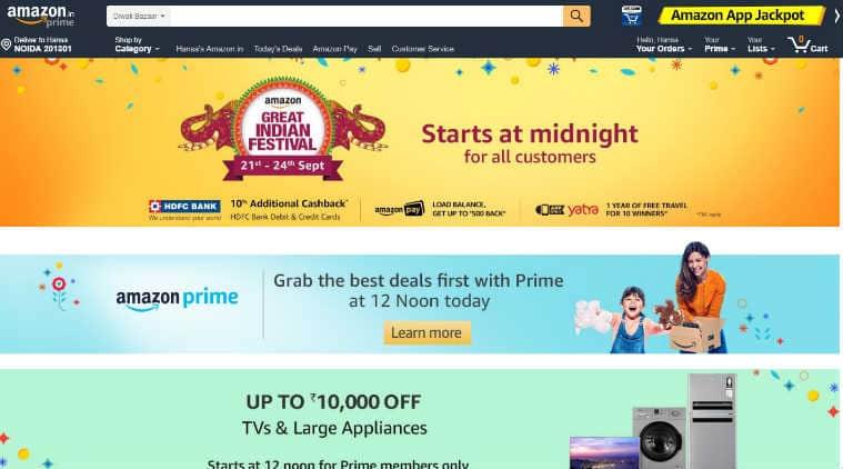 Amazon Great Indian Festival, Flipkart Big Billion Days, Amazon sale, Flipkart Big Billion Day, Flipkart offers