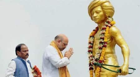 BJP president Amit Shah launches 'Shaheed Gram Vikas Yojana' in Jharkhand